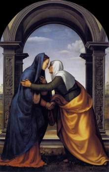 The Visitation by Albertinelli, 1503.